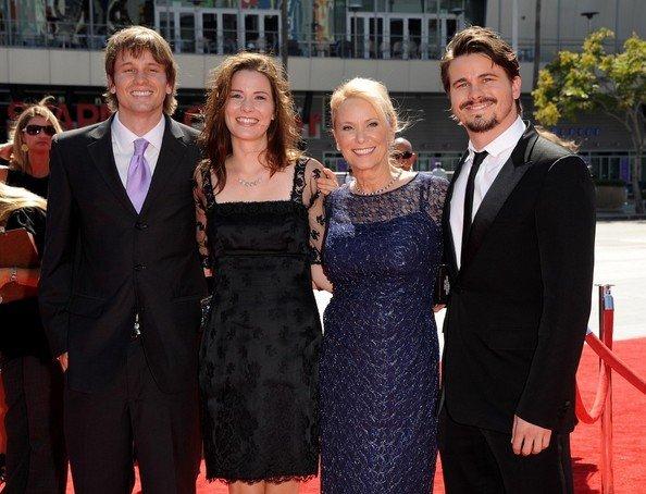 Nancy with her three children