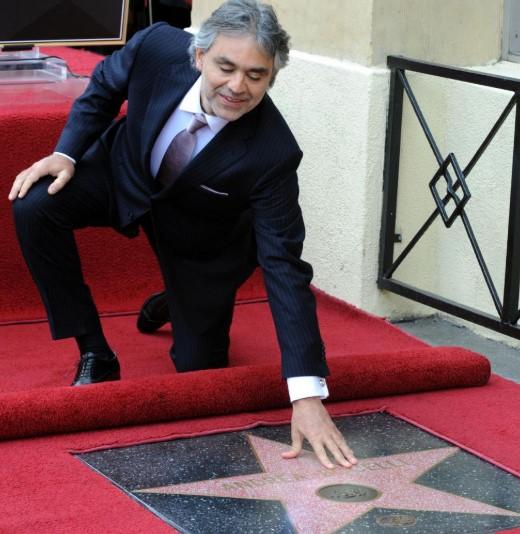 Andrea Bocelli Honors