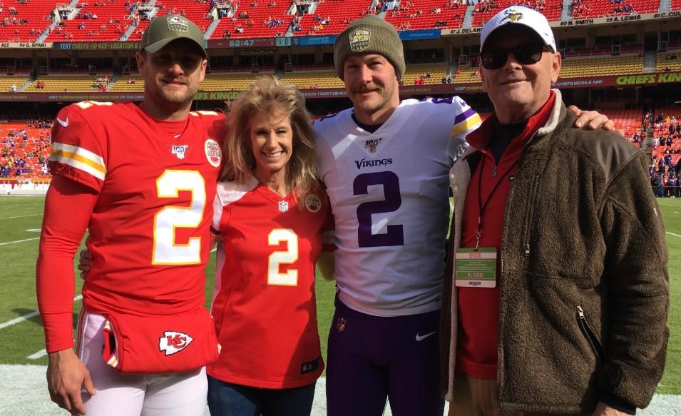 Dustin Colquitt Family
