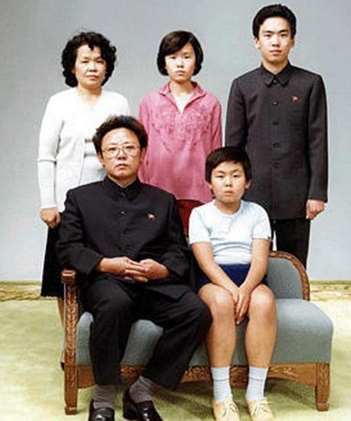 Kim Jong-un Family
