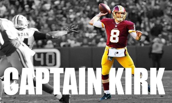 Kirk Cousins Captain Kirk