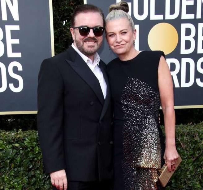 Ricky Gervais Wife