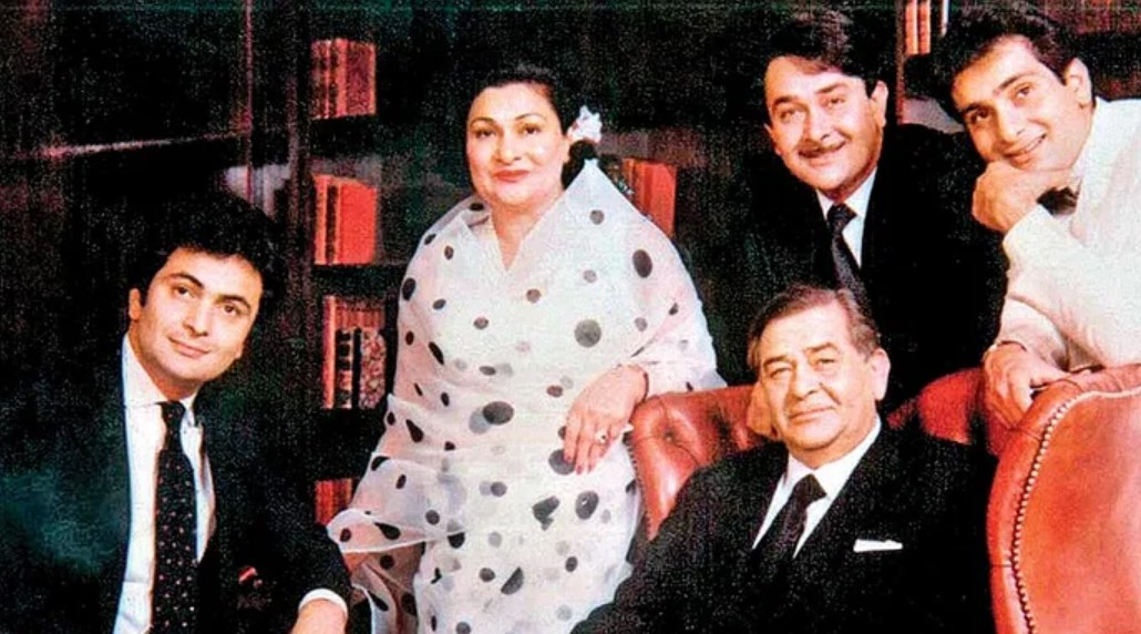 Rishi Kapoor Parents