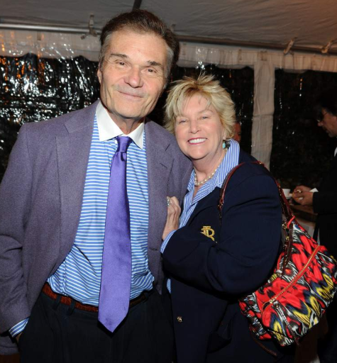 Fred Willard with his wifeMary Lovell