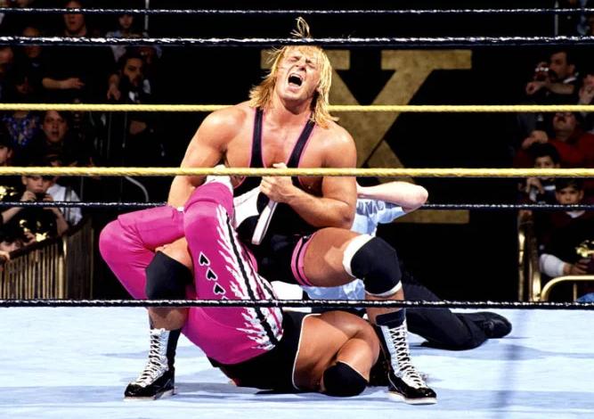 Owen Hart Against The Opponent