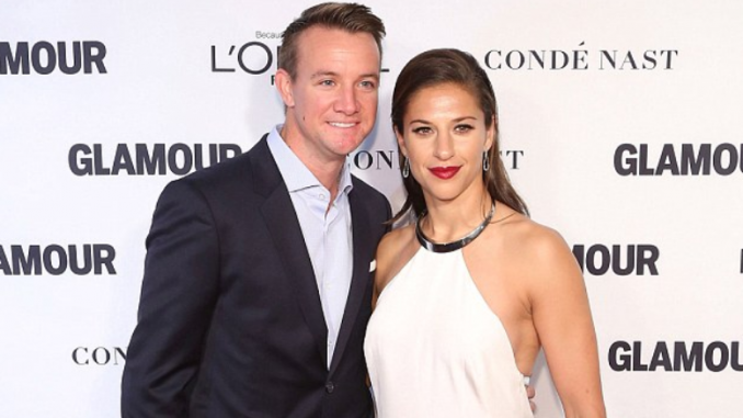 Brian with his wife Carli