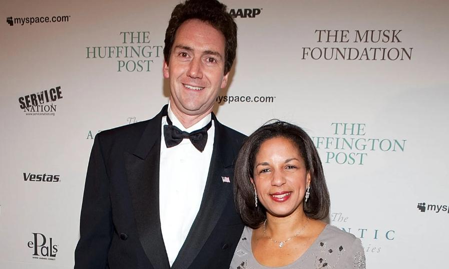 Susan Rice With Her Husband Ian O. Cameron