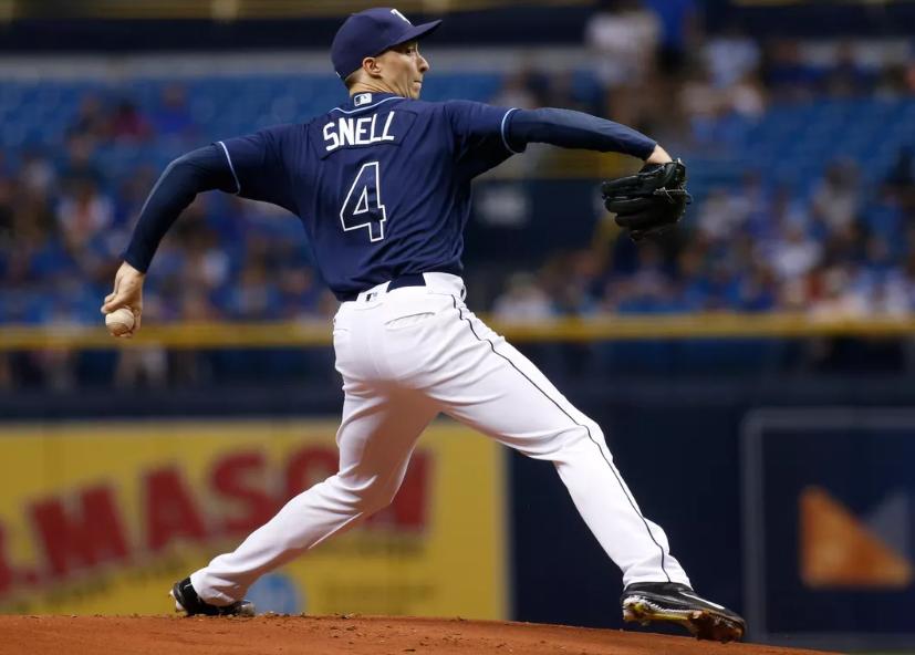 Blake Snell, a famous baseball pitcher