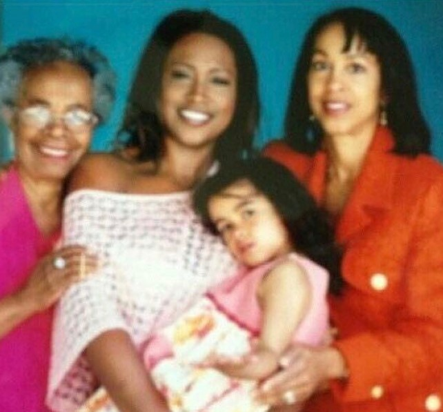 Maia Campbell family