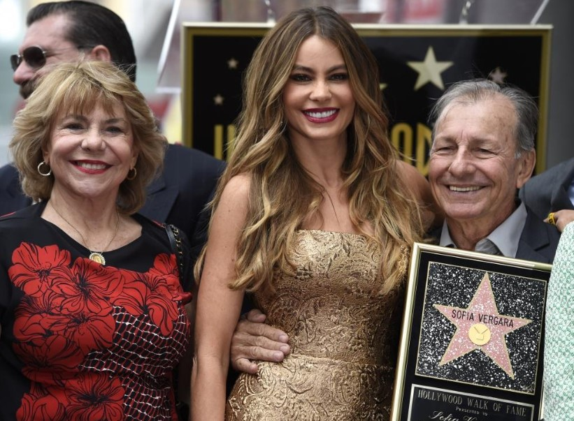 Sofia Vergara parents