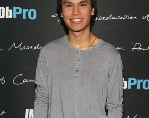 Forrest Goodluck giving a pose in an event.