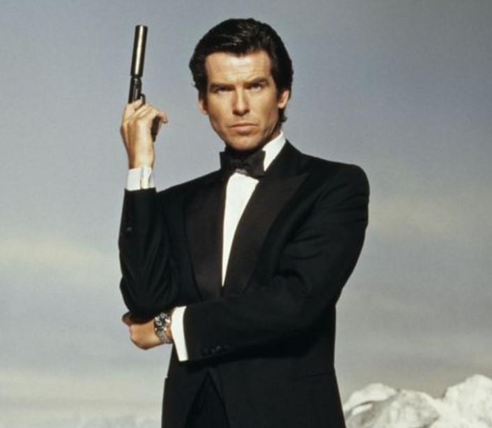 Pierce Brosnan Famous For