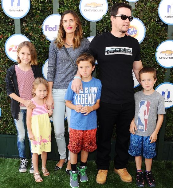 Mark Wahlberg kids