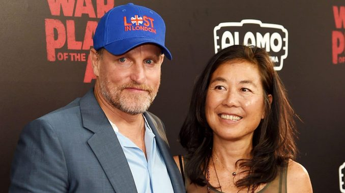 The untold story of Woody Harrelson's wife – Laura Louie