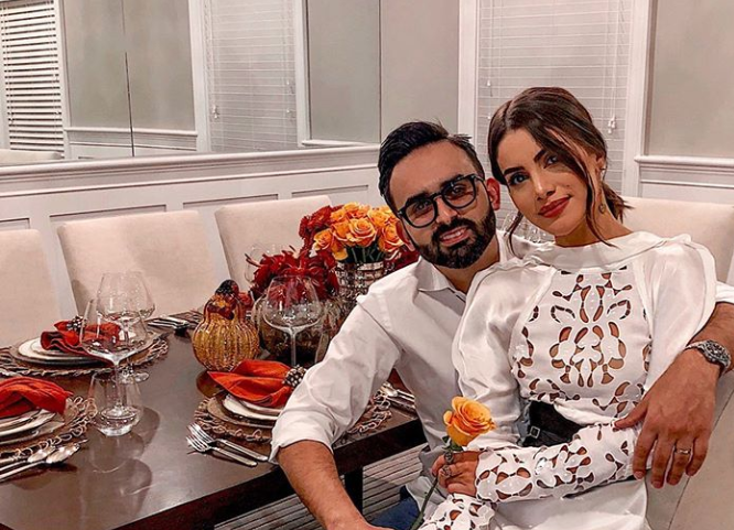 Camila Coelho with her husband Icaro Brenner