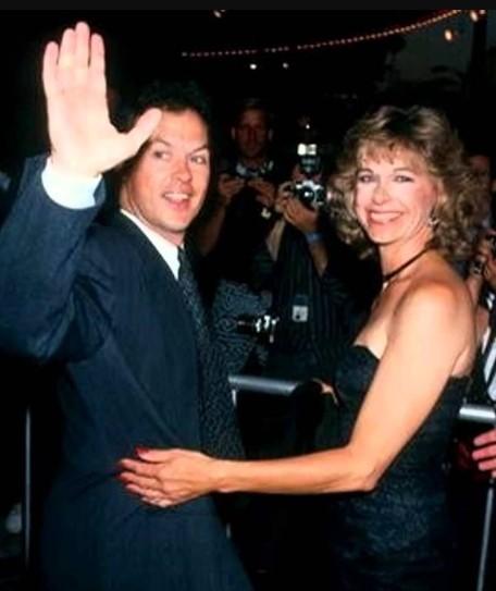 Michael Keaton wife