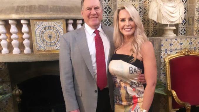 Linda Holliday with boyfriend Bill