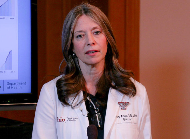 Amy Acton, a famous physician as well as a public-health researcher