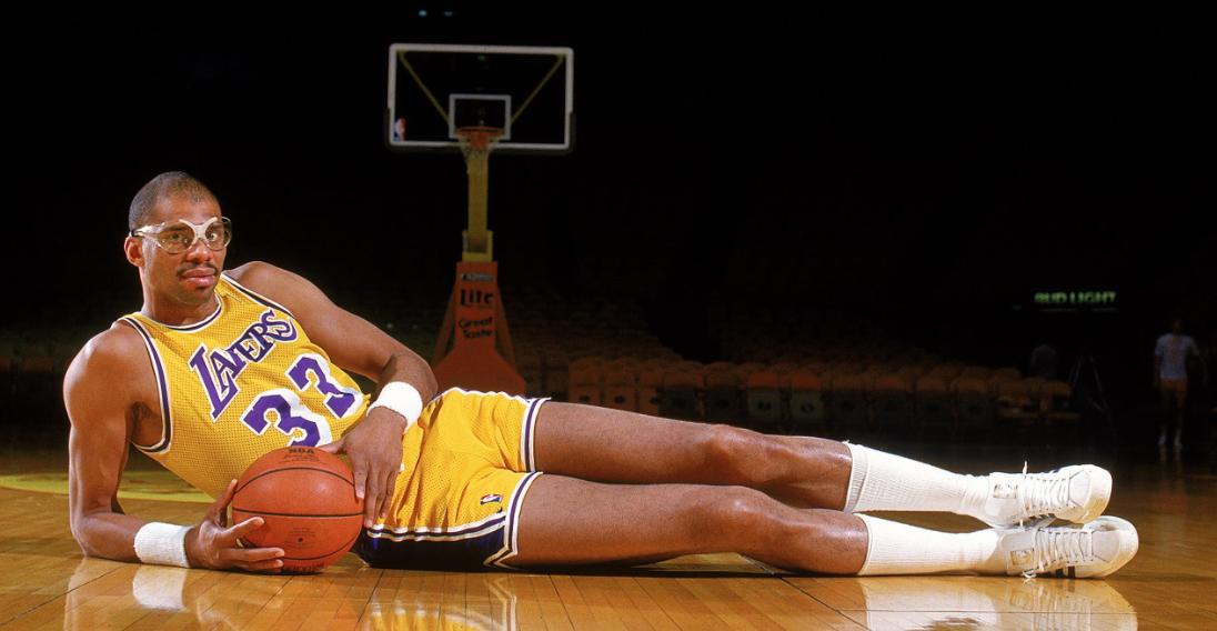 Kareem Abdul-Jabbar, a former basketball player