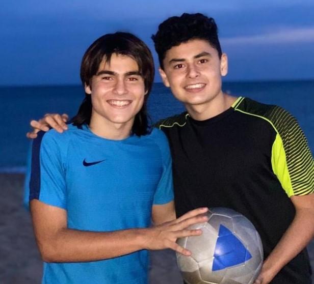 Luka Romero siblings