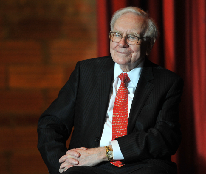 Warren Buffett, a famous billionaire