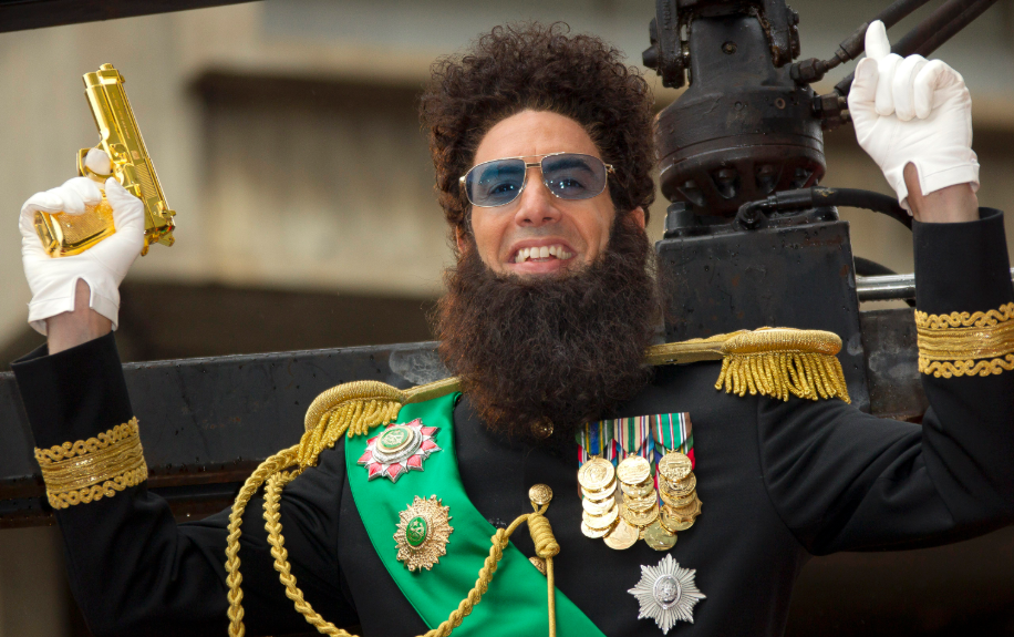 Sacha Baron Cohen in the movie The Dictator