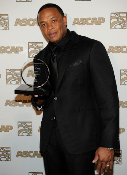 Dr. Dre With Awards