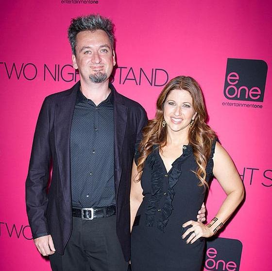 Rachel Nichols with her husband, Max Nichols