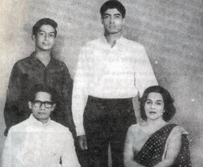Amitabh Bachchan parents