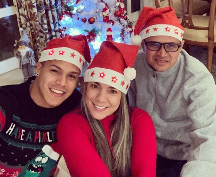 Cucho Hernandez parents