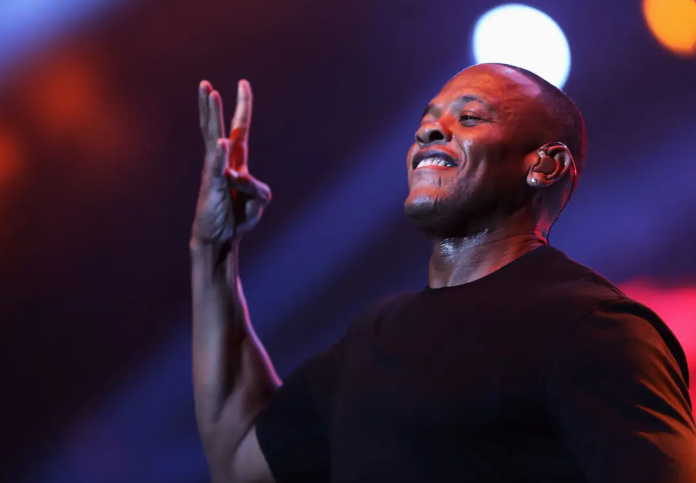 Dr. Dre, a famous American rapper, songwriter, audio engineer, record producer, record executive
