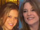 India Emmaline and mother Marianne Williamson