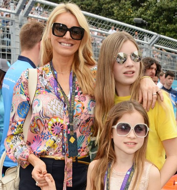 Tess Daly daughters