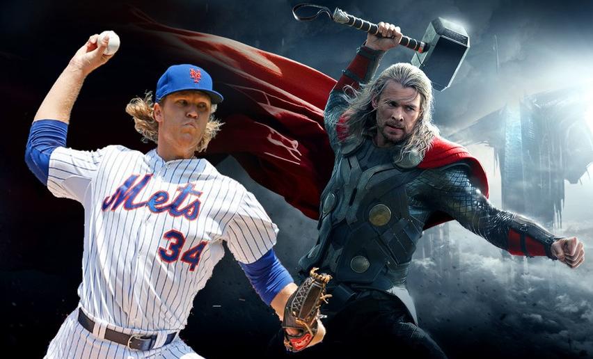 Noah Syndergaard, Nicknamed as Thor