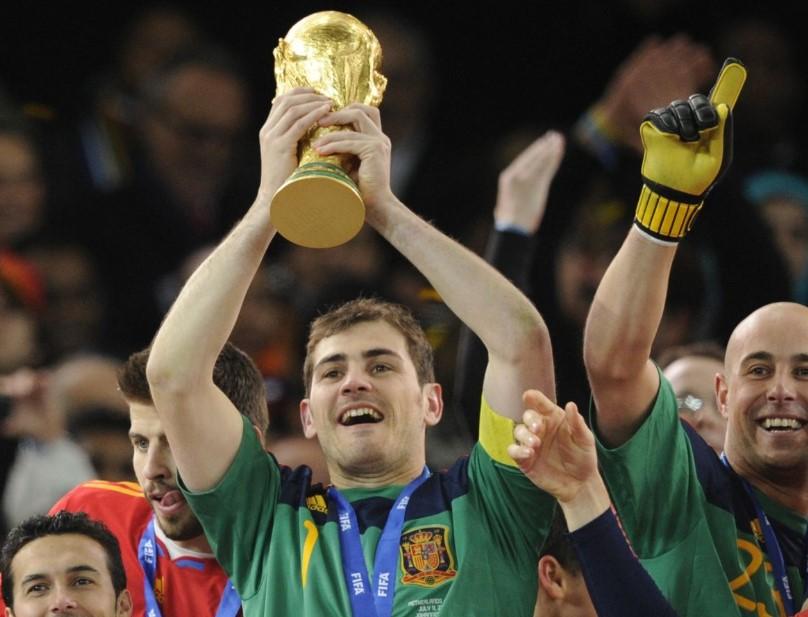 Footballer Iker Casillas