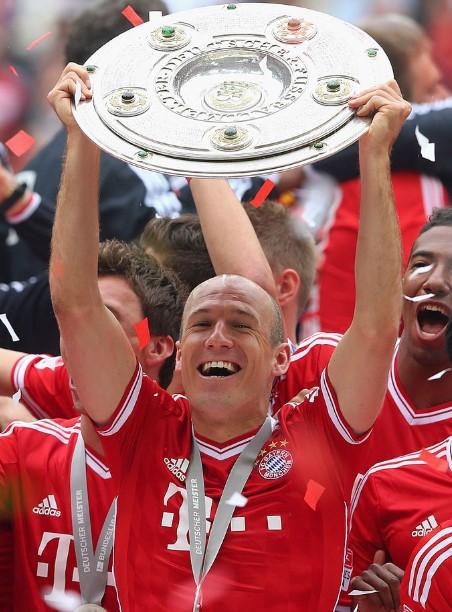 Footballer Arjen Robben