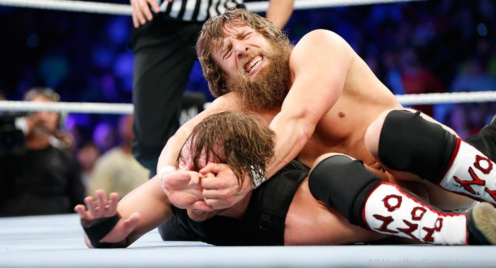 Daniel Bryan against the opponent