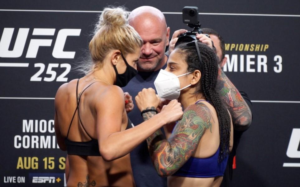 Livia Renata Souza fight