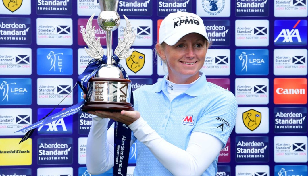 Stacy Lewis scottish open