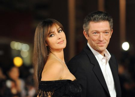 Monica Bellucci with Her Former Husband Vincent Cassel