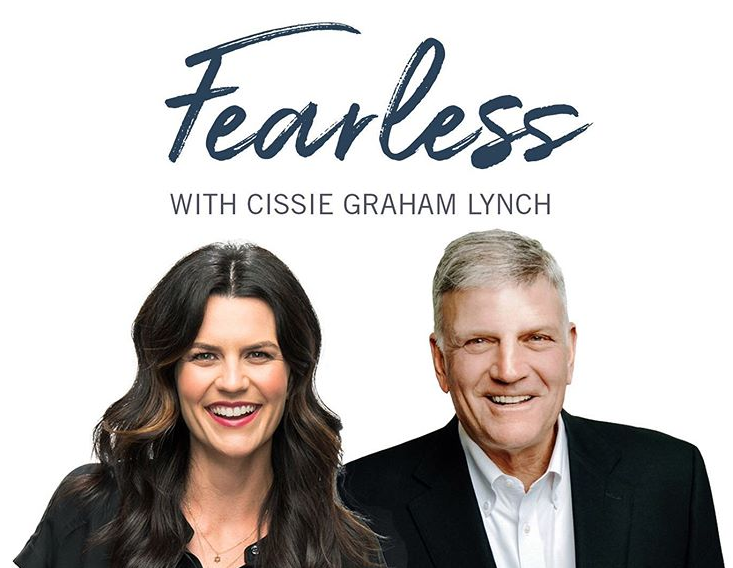 Jane Graham Lynch and her father, Franklin Graham