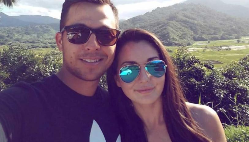 Xander and girlfriend Maya