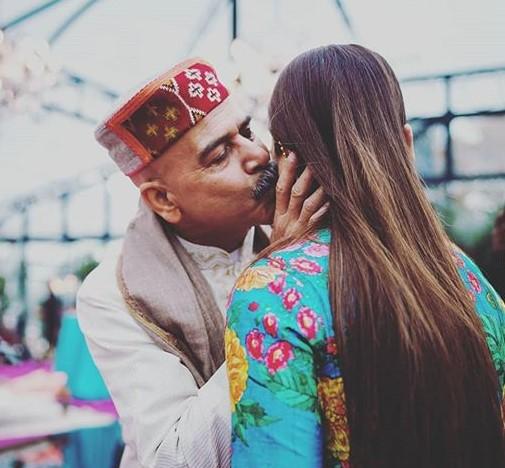 Anushka Sharma father