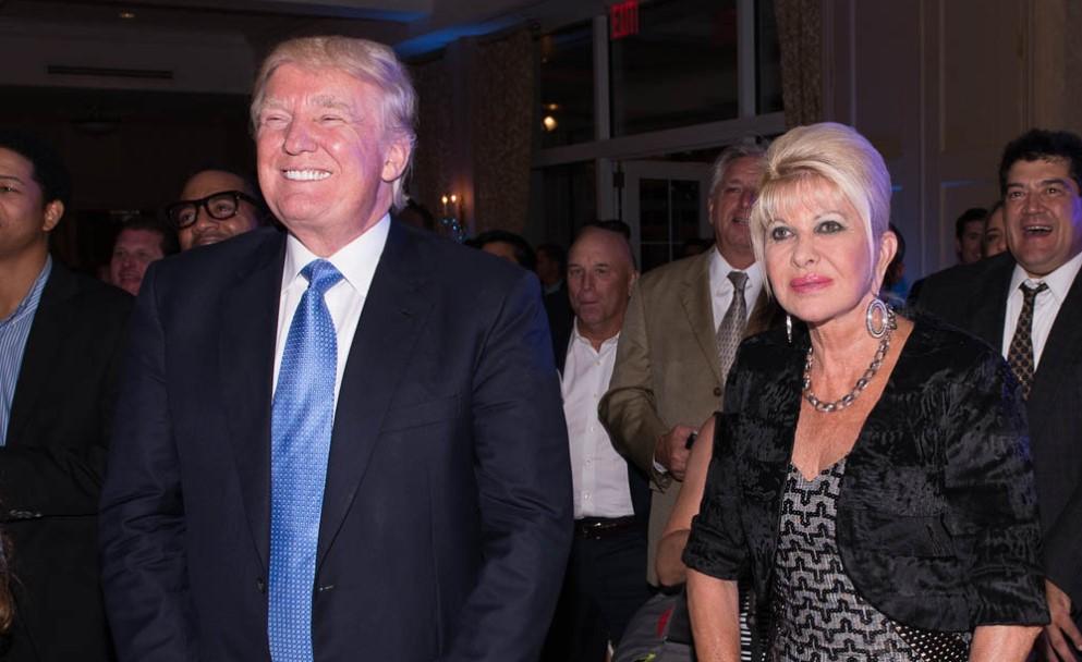 Eric Trump parents