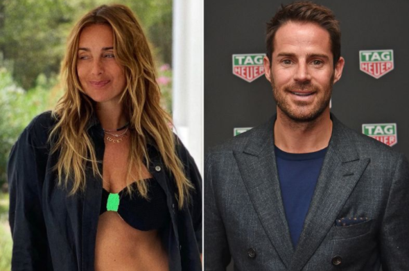 Jamie Redknapp with his new girlfriend, Frida Andersson-Lourie