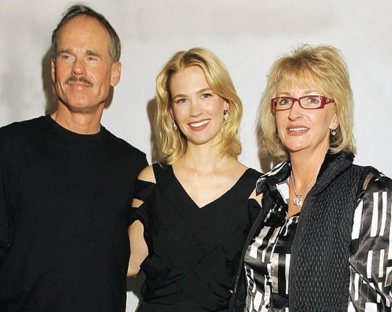 January Jones parents