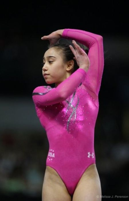 Katelyn Ohashi at her Young Age