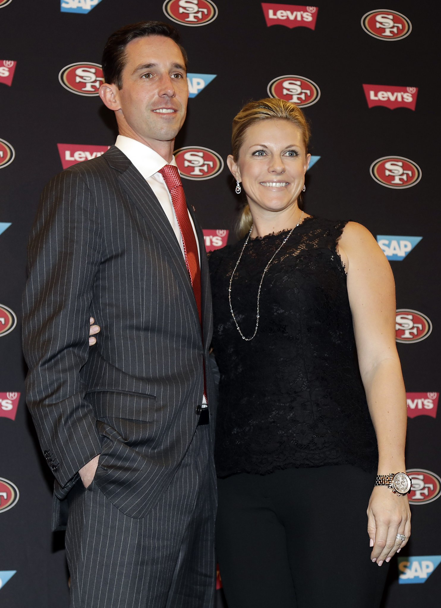 Mandy Shanahan and Kyle Shanahan
