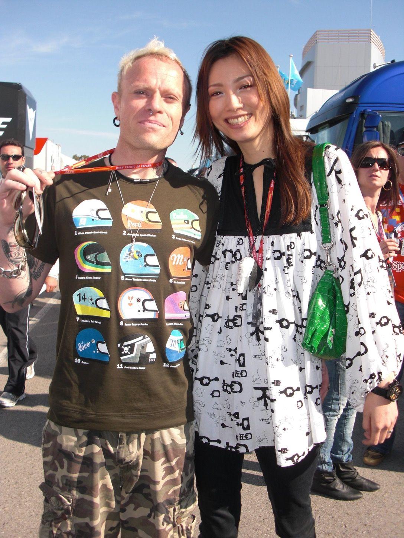 Mayumi Kai and keith Flint