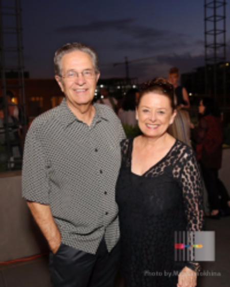 Ron Magers with his wife